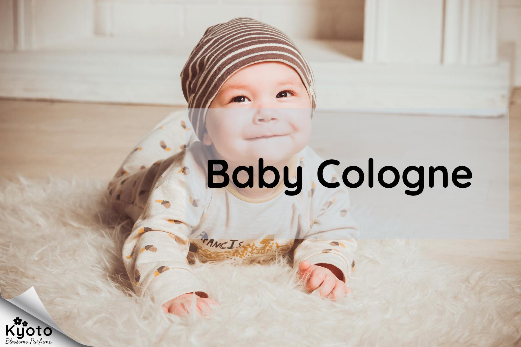 Một số loại nước hoa cho bé