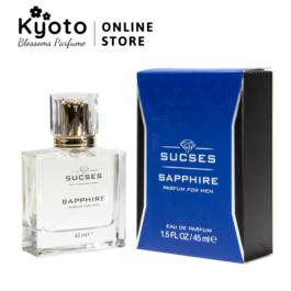 Nước hoa nam Cao cấp Sucses Sapphire 45ml (Mediterranean Air)