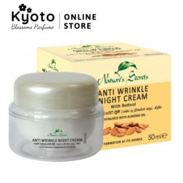 Kem trắng da chống lão hóa Anti Wrinkle Night Cream 50ml
