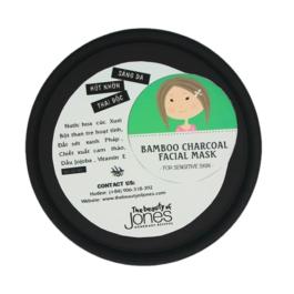 Mặt nạ Than tre Đất sét Bamboo Charcoal Facial Mask 50g