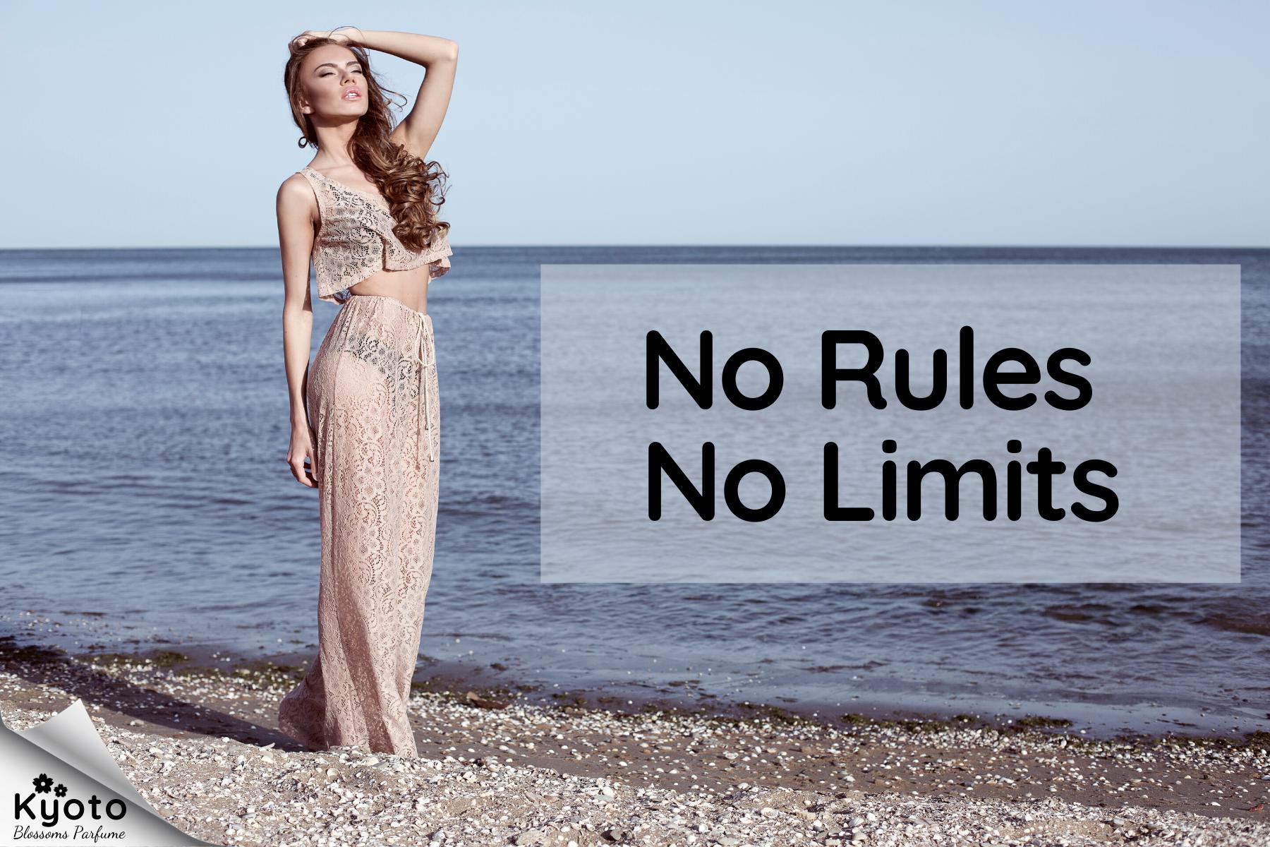 Nước hoa: Không chuẩn mực, không giới hạn